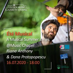 Eté musical – R. Anthony & D. Protopopescu