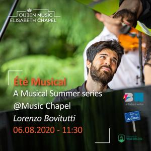 Eté musical – Lorenzo Bovitutti