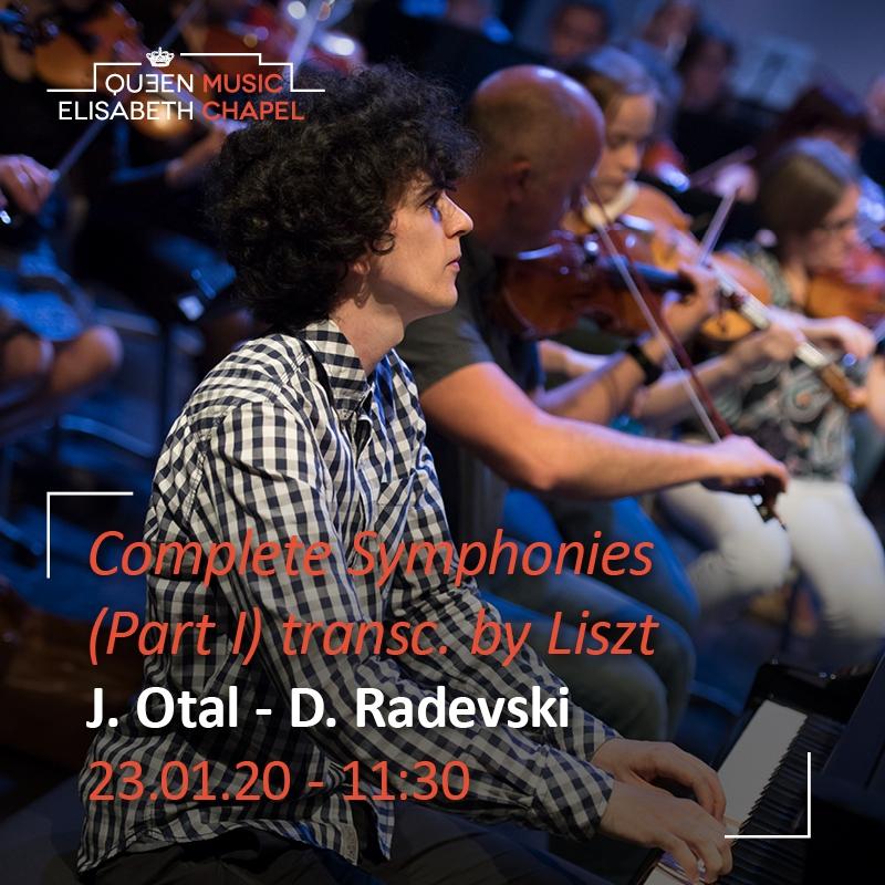 Liszt's Beethoven Symphonies transcriptions