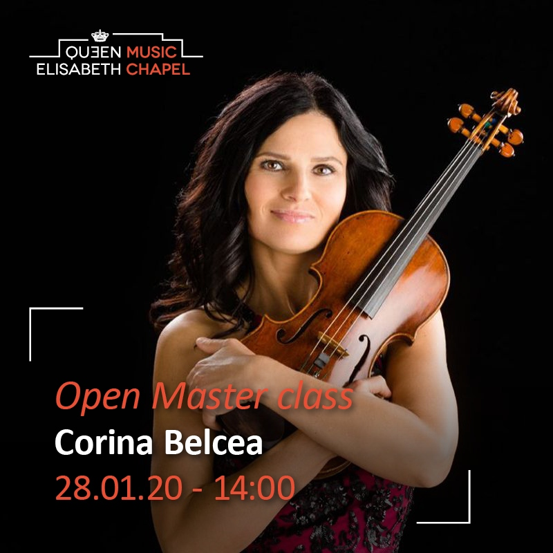 Open Masterclass Corina Belcea