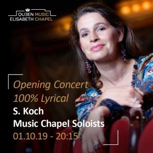 Opening Concert – Sophie Koch & Music Chapel Singers – 100% lyrical