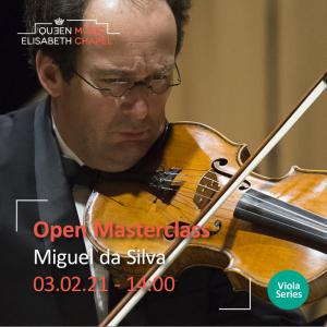 Open Masterclass: Viola – M. da Silva