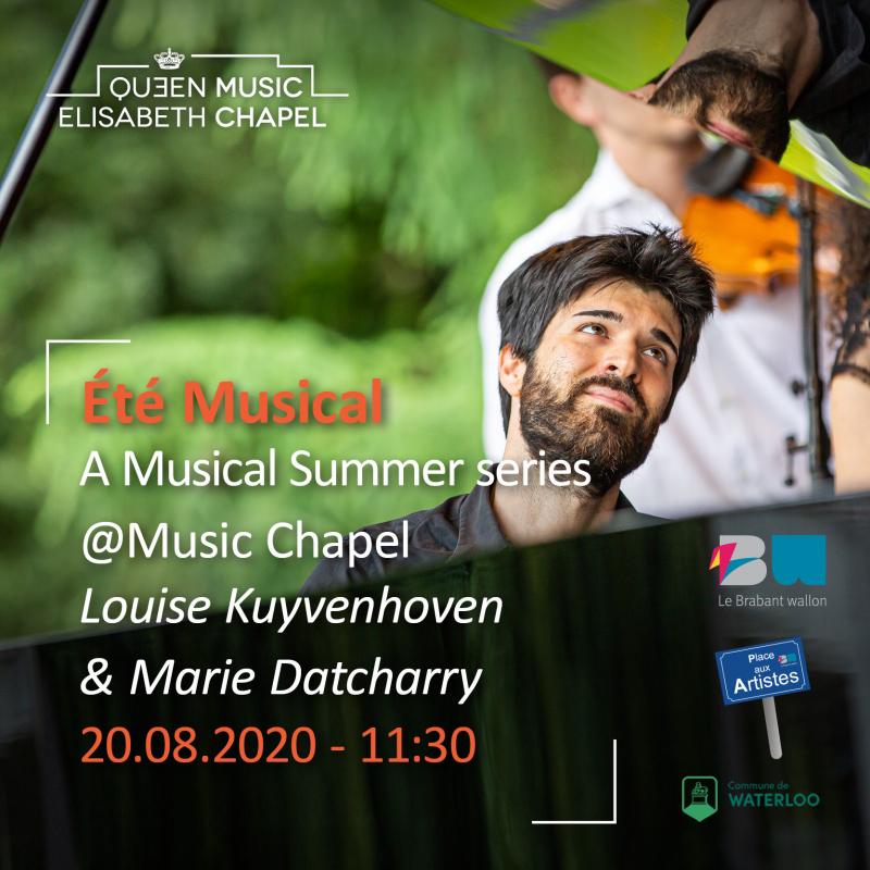 Eté musical – L. Kuyvenhoven & M. Datcharry