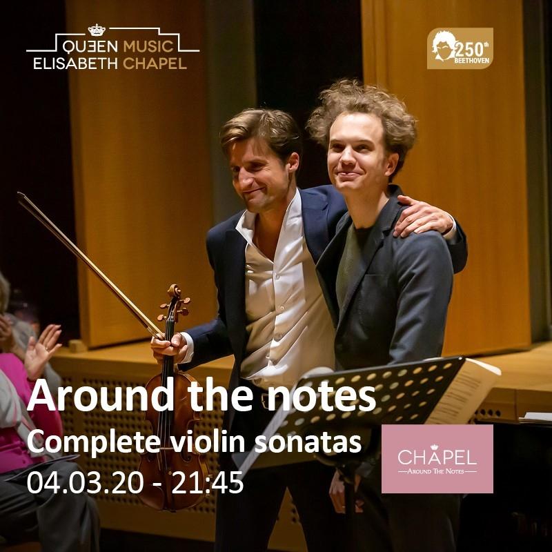 Around the notes – Les sonates de Beethoven